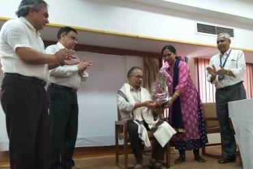 Farewell to Shri Sanjay Y. Deodhar (ayjnishd, Mumbai) on his retirement on 29 March 2019