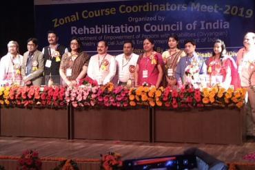 Zonal Course Coordinators Meet - 2019 Organized by Rehabilitation Council of India