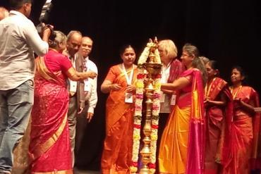 Inaugurating the golden Jubilee International Conference of Balavidyala, Chennai