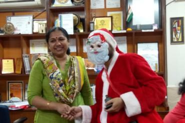 Christmas Celebration 2019 organized by dept. of Education, AYJNISHD(D)
