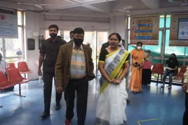 Visit of Shri Ramdas Athawale, Hon. Minister of State for Social Justice & Empowerment