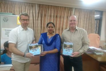 Director welcomed Mr. Torkel Principal & Mr. Michael Karlson, Vice Principal, Fellingsbro Folk High School, Sweden
