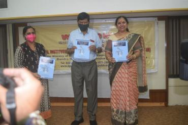 Release of Book - Pre-CI Counseling module-ADIP CI Program by Hon. Minister