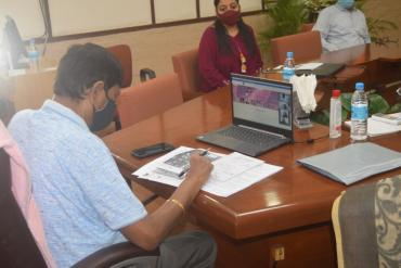 Webinar on Sickle Cell - Chief Guest -Shri Ramdas Athawale, Hon. Minister of State, MSJE, GOI