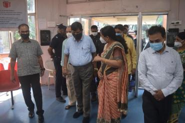 Visit of Shri Ramdas Athawale, Minister of State for Social Justice and  Empowerment, Govt. of India