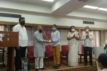 Distribution of hearing aids by shri Asish Shelar, MLA On the occasion of celebrating 70th birthday of HON Prime MInister